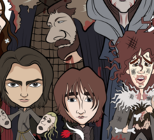 (Book 5 SPOILERS) Stark Family Portrait Sticker