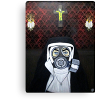 In Globally Organized Delusion we trust Canvas Print