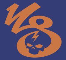 KrakkdSkullz - KS Logo - Orange by krakkdskullz