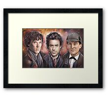 Detectives Framed Print