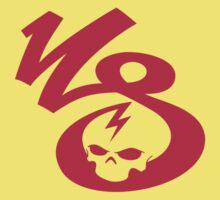 KrakkdSkullz - KS Logo - Neon Red by krakkdskullz