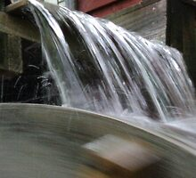 Water on the Waterwheel by PicsbyJody