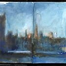 England Sketchbook May 1 London by Cameron Hampton