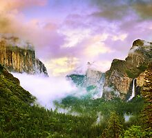 Clearing Storm over Yosemite Valley by Edward Mendes