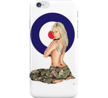 II Squadron RAF Regiment Pinup iPhone Case/Skin