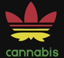 Cannabadidas reggae style by mouseman