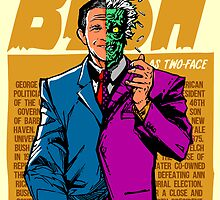 Real Life Supervillains - Two-Face President by butcherbilly