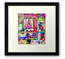 Hey Babe...want to go shopping? Framed Print