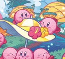 Kirby Mass Attack Sticker