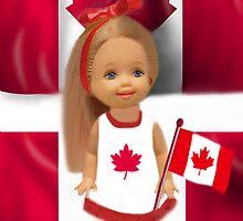 °? ? • ?PATRIOTIC DOLL WAVING HER FLAG FOR CANADA TRUE PATRIOT LOVE °? ? • ? by ✿✿ Bonita ✿✿ ђєℓℓσ