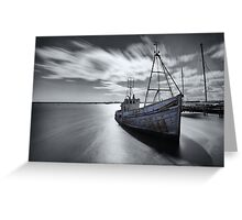 Portugal Fishing Boat Greeting Card