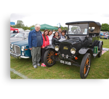 1922 Ford 3000cc on display at the Bromley pageant of motoring. Canvas Print