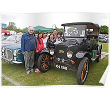 1922 Ford 3000cc on display at the Bromley pageant of motoring. Poster