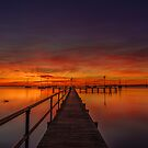 Sunrise - Griffen Gully - Geelong Victoria by Graeme Buckland