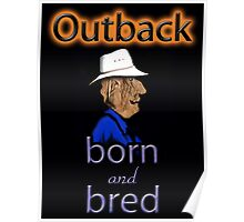 OUTBACK BORN AND BRED Poster