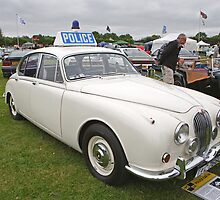 Jaguar 3.4  1968  Police Car by Keith Larby