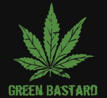 Green Bastard Leaf by derP