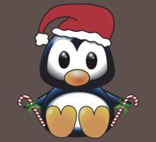 Cute Cartoon Christmas Penguin Kids Clothes