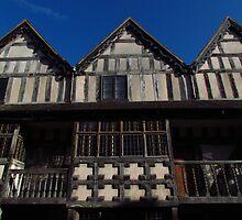 Raynalds Mansion, Much Wenlock by wiggyofipswich