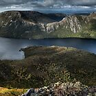 Lake Dove Panorama by Mieke Boynton