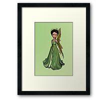 Green Fairy Framed Print