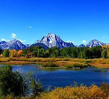 Mount Moran - Grand Teton National by aidan  moran
