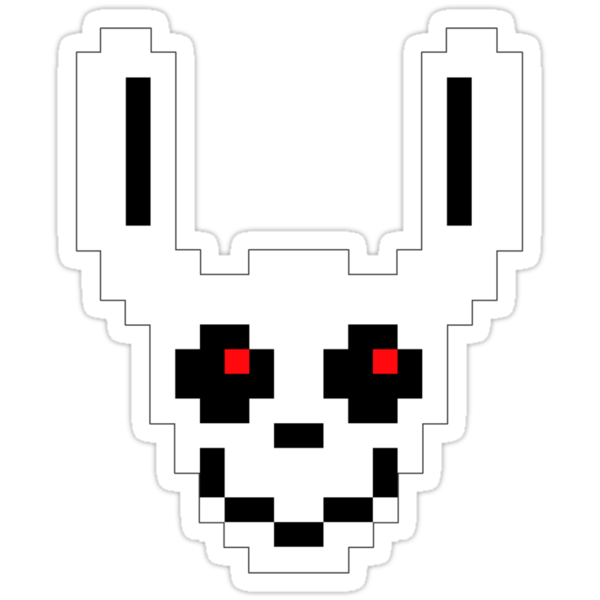 Ghost Bunny by robertdesigned