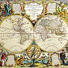 World Map 1755 by VintageLevel