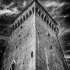 Castle in San Felice sul Panaro by Traven Milovich
