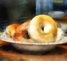Food - Bagels for Sale by Susan Savad