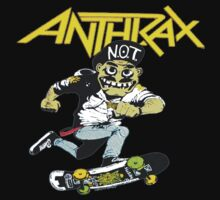 Anthrax N.O.T., skateboard shirt by BUB THE ZOMBIE