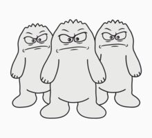 Angry Yetis by Style-O-Mat