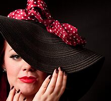 Big Hat with a Bow by Christopher  Evans