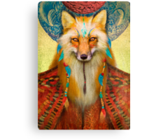 Wise Fox Canvas Print