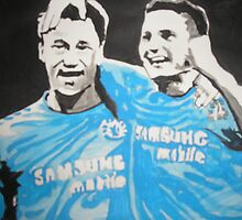 Frank and Terry by Colin  Laing