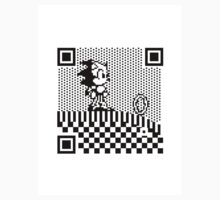 8-BIT QR Codes: Sonic the Hedgehog by mjcowan