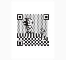 8-BIT QR Codes: Sonic the Hedgehog by mjcowan