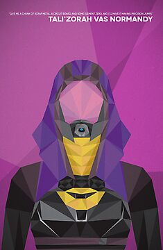 Tali Zorah Vas Normandy by donutplains