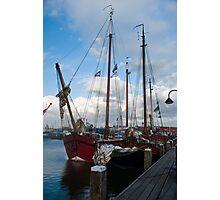 Schooners in the Netherlands Photographic Print