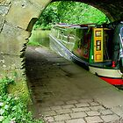 The old and the new..... Bridge and Narrowboat.......! by Roy  Massicks