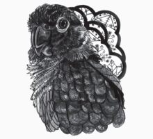 Greyscale Conure by Ashley Peppenger