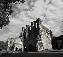 Wenlock Priory, Shropshire by wiggyofipswich