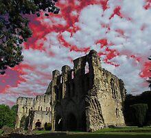 Wenlock Priory, Much Wenlock by wiggyofipswich