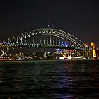 Sydney Harbor Bridge (Coat Hanger Bridge) by phil decocco
