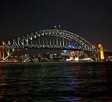 Sydney Harbor Bridge (Coat Hanger Bridge) by phil decocco