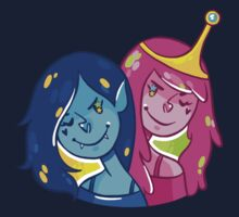Marceline & Princess Bubblegum by nowaitwhat