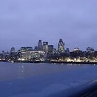 Thames View from Tower Bridge by Stephanie Fay