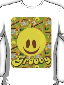 Groovy 70's Smiley T-Shirt