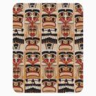 Epic Totem Pole Design  by mytshirtfort