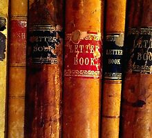 Antique Letter Books by Charlie-R